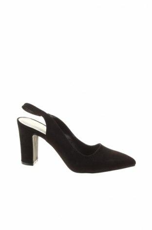 Дамски обувки Bodyflirt, Размер 38, Цвят Черен, Текстил, Цена 22,40лв.