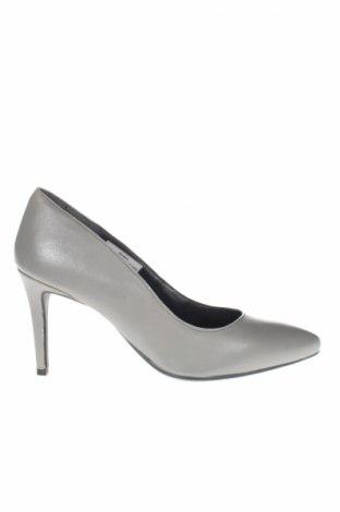Γυναικεία παπούτσια Bpc Bonprix Collection, Μέγεθος 40, Χρώμα Γκρί, Γνήσιο δέρμα, Τιμή 6,74€