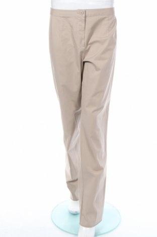 Дамски панталон Elena Miro, Размер L, Цвят Бежов, 96% памук, 4% еластан, Цена 31,47лв.