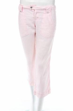 Γυναικείο παντελόνι Guga Jeans, Μέγεθος S, Χρώμα Ρόζ , Τιμή 4,00€