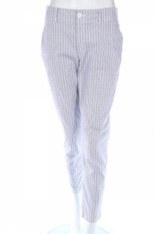 Pantaloni de femei H&M L.o.g.g, Mărime M, Culoare Albastru, 98% bumbac, 2% elastan, Preț 47,89 Lei