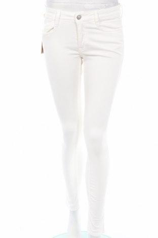 Дамски панталон Le Temps Des Cerises, Размер S, Цвят Бял, 98% памук, 2% еластан, Цена 44,70лв.