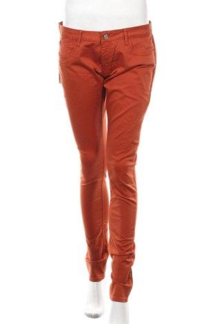 Дамски панталон Le Temps Des Cerises, Размер M, Цвят Кафяв, 98% памук, 2% еластан, Цена 20,70лв.