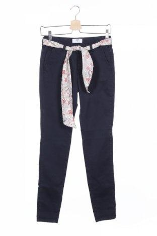 Дамски панталон Le Temps Des Cerises, Размер XS, Цвят Син, 98% памук, 2% еластан, Цена 41,70лв.