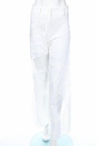 Γυναικείο παντελόνι Mtwtfss Weekday, Μέγεθος XS, Χρώμα Λευκό, Βαμβάκι, πολυεστέρας, Τιμή 11,49€