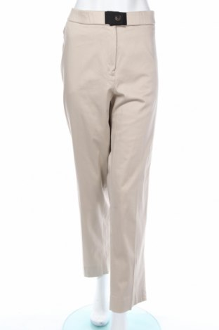 Дамски панталон Violeta by Mango, Размер 3XL, Цвят Бежов, 98% памук, 2% еластан, Цена 49,91лв.