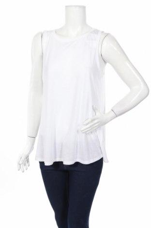 Дамски потник Loft By Ann Taylor, Размер L, Цвят Бял, 60% памук, 40% модал, Цена 32,76лв.