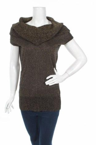 Дамски пуловер Favori, Размер M, Цвят Черен, 85% акрил, 15% метални нишки, Цена 33,28лв.
