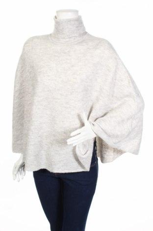 Дамски пуловер Object, Размер M, Цвят Сив, 40% акрил, 27% полиамид, 20% полиестер, 10% вълна, 3% еластан, Цена 51,84лв.