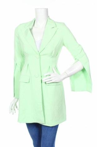 Γυναικείο παλτό 4th & Reckless, Μέγεθος XS, Χρώμα Πράσινο, 94% πολυεστέρας, 6% ελαστάνη, Τιμή 23,01€