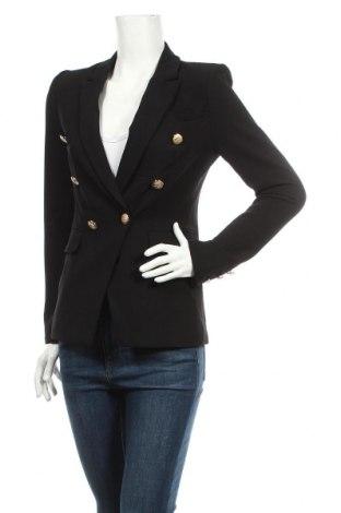 Γυναικείο σακάκι Guess, Μέγεθος S, Χρώμα Μαύρο, 90% πολυεστέρας, 10% ελαστάνη, Τιμή 56,02€