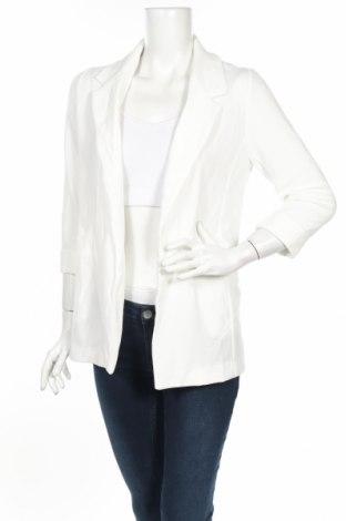 Дамско сако New Look, Размер S, Цвят Бял, 95% полиестер, 5% еластан, Цена 47,52лв.
