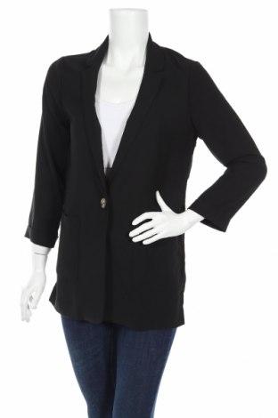 Дамско сако New Look, Размер S, Цвят Черен, 53% други тъкани, 47% полиестер, Цена 41,76лв.