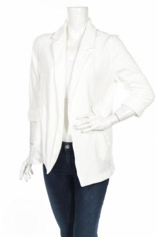 Дамско сако New Look, Размер M, Цвят Бял, 95% полиестер, 5% еластан, Цена 38,88лв.