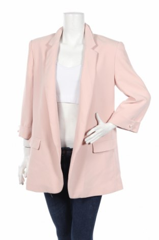 Dámské sako  Zara, Rozměr XL, Barva Růžová, 95% polyester, 5% elastan, Cena  1101,00Kč