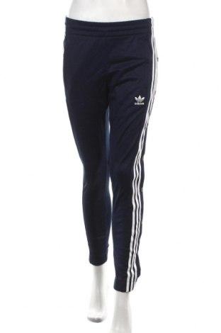 Дамско спортно долнище Adidas Originals, Размер XS, Цвят Син, 52% памук, 48% полиестер, Цена 64,08лв.
