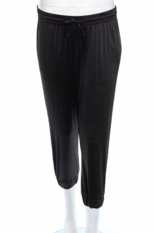 Pantaloni trening de femei Topshop, Mărime M, Culoare Negru, 92% poliester, 8% elastan, Preț 23,21 Lei
