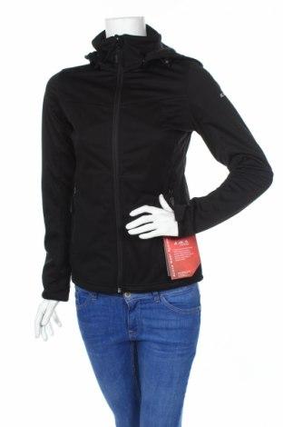 Дамско спортно яке Icepeak, Размер XS, Цвят Черен, Полиестер, Цена 72,80лв.