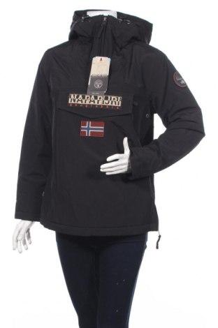 Γυναικείο μπουφάν αθλητικό Napapijri, Μέγεθος M, Χρώμα Μαύρο, Πολυεστέρας, Τιμή 93,85€