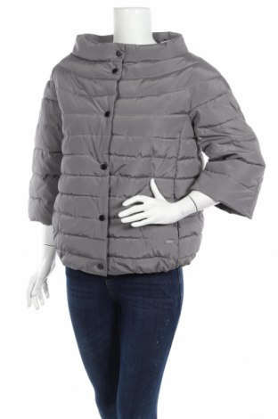 Γυναικείο μπουφάν Guess, Μέγεθος M, Χρώμα Γκρί, Πολυεστέρας, Τιμή 96,83€