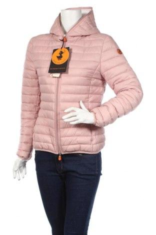 Γυναικείο μπουφάν Save The Duck, Μέγεθος M, Χρώμα Ρόζ , Πολυαμίδη, Τιμή 86,78€