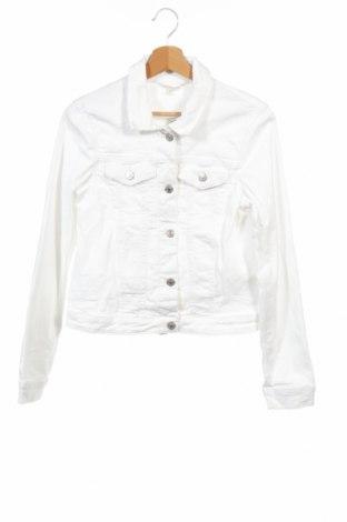 Dámská bunda  Tom Tailor, Rozměr S, Barva Bílá, 98% bavlna, 2% elastan, Cena  487,00Kč