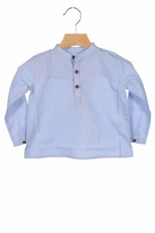 Детска блуза Bonnet A Pompon, Размер 18-24m/ 86-98 см, Цвят Син, Памук, Цена 12,16лв.