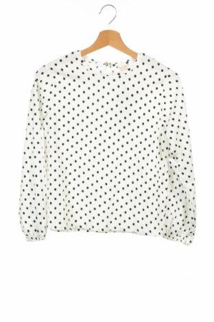Παιδική μπλούζα Zara Kids, Μέγεθος 11-12y/ 152-158 εκ., Χρώμα Λευκό, 99% πολυεστέρας, 1% ελαστάνη, Τιμή 5,98€
