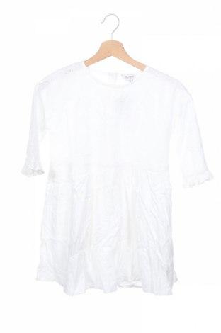 Детска рокля, Размер 8-9y/ 134-140 см, Цвят Бял, Памук, Цена 7,92лв.