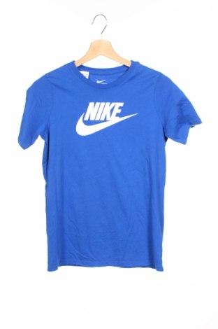Detské tričko Nike, Veľkosť 9-10y/ 140-146 cm, Farba Modrá, Bavlna, Cena  18,14€