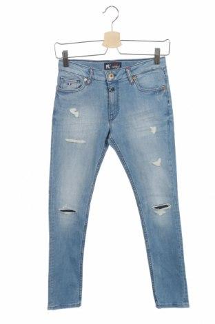 Dziecięce jeansy Kaporal, Rozmiar 12-13y/ 158-164 cm, Kolor Niebieski, 98% bawełna, 2% elastyna, Cena 71,50zł