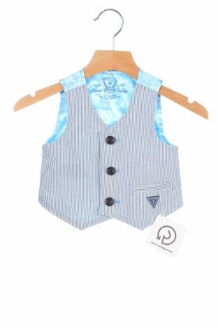 Dětská vesta  Guess, Rozměr 12-18m/ 80-86 cm, Barva Modrá, Bavlna, Cena  308,00Kč