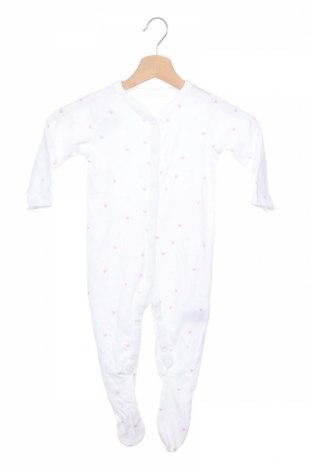 Salopetă pentru copii. Mothercare, Mărime 12-18m/ 80-86 cm, Culoare Alb, Bumbac, Preț 37,63 Lei