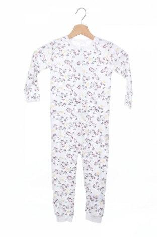 Salopetă pentru copii. Name It, Mărime 18-24m/ 86-98 cm, Culoare Alb, Bumbac, Preț 52,11 Lei