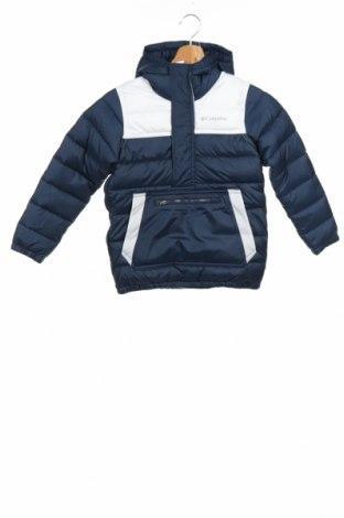 Детско спортно яке Columbia, Размер 8-9y/ 134-140 см, Цвят Син, 100% полиестер, Цена 69,52лв.