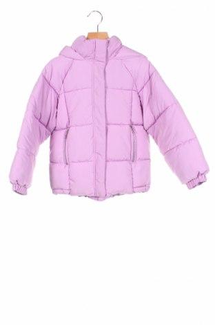 Детско яке Zara Kids, Размер 6-7y/ 122-128 см, Цвят Лилав, Полиестер, Цена 46,50лв.