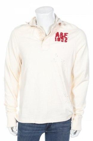 Pánske tričko  Abercrombie & Fitch, Veľkosť L, Farba Kremová, Bavlna, Cena  17,86€