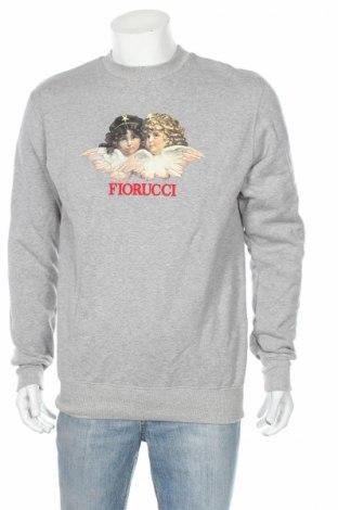 Bluză de bărbați Fiorucci, Mărime M, Culoare Gri, Bumbac, Preț 155,37 Lei