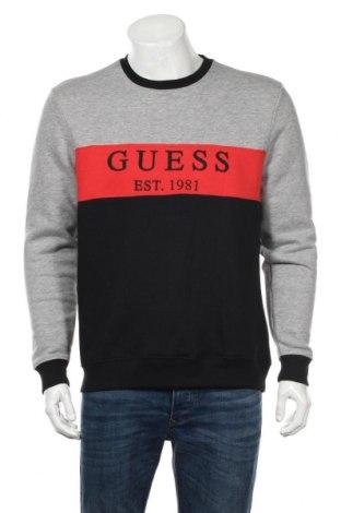 Bluză de bărbați Guess, Mărime S, Culoare Gri, Bumbac, viscoză, poliester, Preț 143,29 Lei