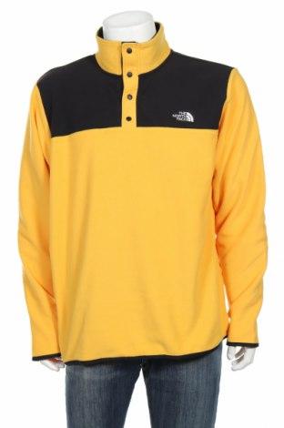Ανδρική μπλούζα fleece The North Face, Μέγεθος XL, Χρώμα Μαύρο, Πολυεστέρας, Τιμή 28,07€