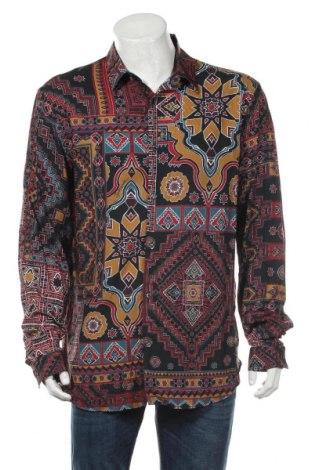 Мъжка риза Just Cavalli, Размер XXL, Цвят Многоцветен, Вискоза, Цена 156,87лв.