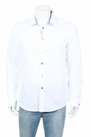 Ανδρικό πουκάμισο Pier One, Μέγεθος XL, Χρώμα Λευκό, Βαμβάκι, Τιμή 20,72€