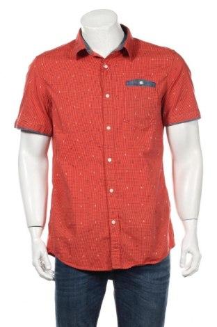 Мъжка риза S.Oliver, Размер L, Цвят Оранжев, Памук, Цена 22,88лв.