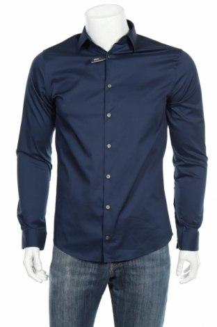 Ανδρικό πουκάμισο Tiger Of Sweden, Μέγεθος M, Χρώμα Μπλέ, Τιμή 24,54€