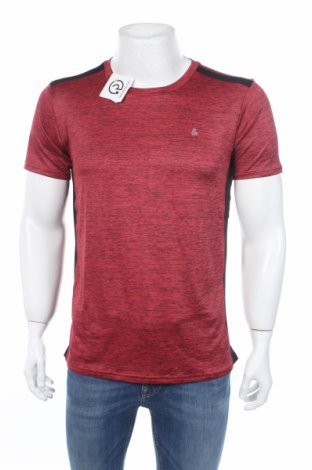 Мъжка тениска Jack & Jones, Размер M, Цвят Червен, 90% полиестер, 10% еластан, Цена 21,45лв.