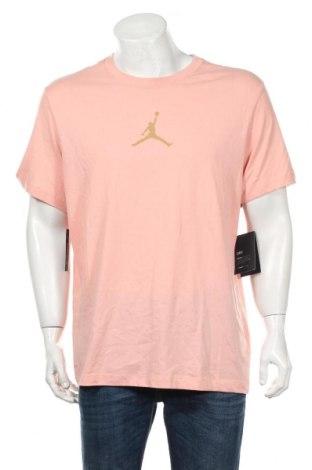 Tricou de bărbați Nike, Mărime L, Culoare Roz, 57% bumbac, 43% poliester, Preț 98,52 Lei