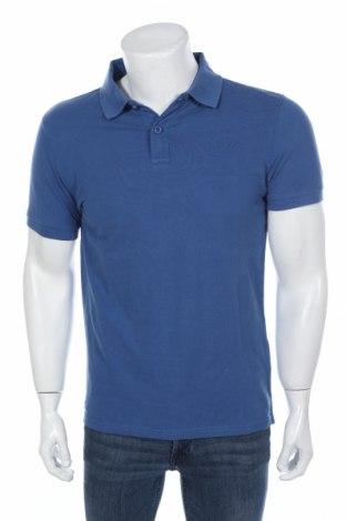Мъжка тениска Petrol Industries, Размер M, Цвят Син, Памук, Цена 23,36лв.