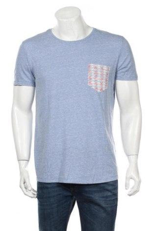 Pánske tričko  Tom Tailor, Veľkosť L, Farba Modrá, 50% polyester, 38% bavlna, 12% viskóza, Cena  7,58€