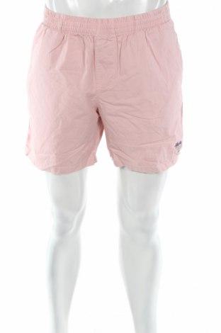 Мъжки къс панталон, Размер M, Цвят Розов, Памук, Цена 12,60лв.