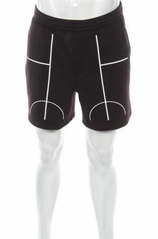 Pantaloni scurți de bărbați Black Barrett by Neil Barrett, Mărime M, Culoare Negru, 96% poliester, 4% elastan, Preț 365,05 Lei